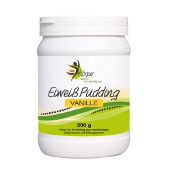 Eiweiss Pudding Vanille
