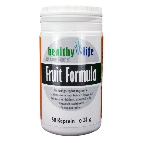 """Fruit Formula"" 60 Kapseln e 31g"